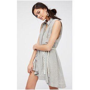 Free People Young Spirit Striped Tunic